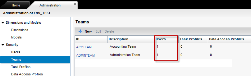 3. Select the appropriate radio button for Import Team Assignments. 4. To start the process, click the Execute button from the application toolbar. 5.