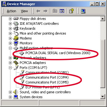 Device Manager.