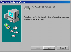 SOFTWARE INSTALLATION FOR WINDOWS 95/98 The following installation procedures are extracted from the Windows 98 installation. The installation for Windows 95 is almost same. 1.