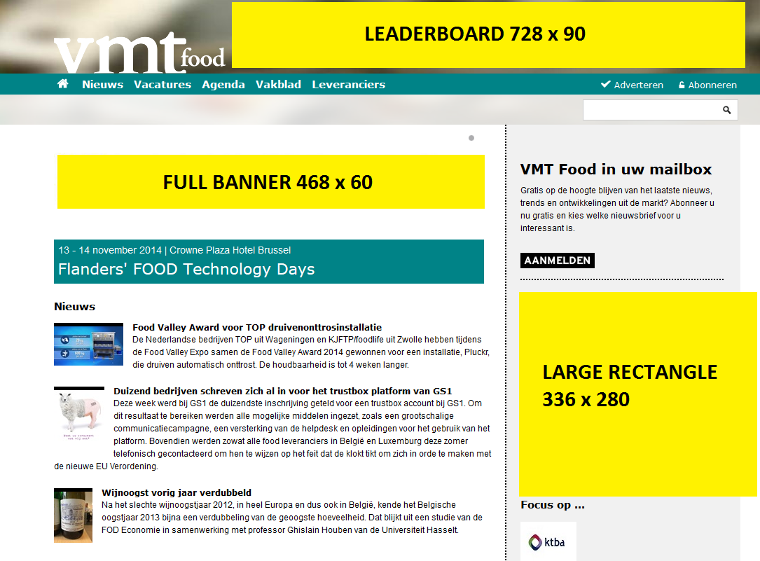 This site offers the latest news happening in the food industry daily, background information, vacancies and a comprehensive event calendar for trade fairs, courses and conferences.