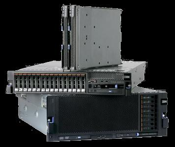 IBM ex5 servers the best platform for Clouds Maximize Memory Over 5x more memory in 2 sockets than current x86 (Intel Xeon 5500 Series) systems Nearly 8x more memory in 4 sockets than