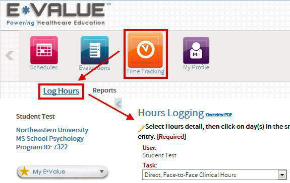Logging Hours in E*Value Go to www.evaluehealthcare.com and click on the Login button.