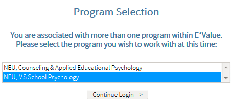 NU s School Psychology Internship 75 Once the contract is approved, s can enter the system to record.