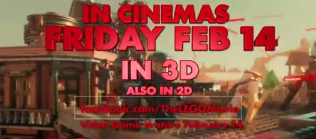 PUTTING THE MOVIE INTO THE LEGO MOVIE AD BREAK To ensure that people made the link to The LEGO Movie, not just LEGO, the