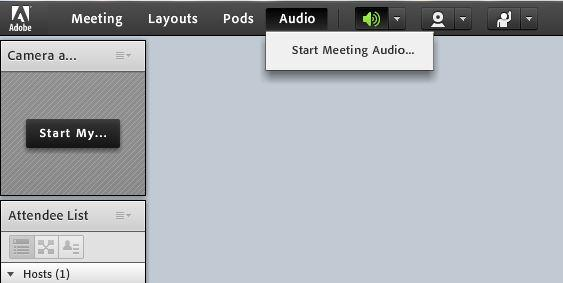 6 When setting up your meeting, select Include this audio conference with this meeting and choose the name you set in the previous steps (In this example, ReadyTalk ).