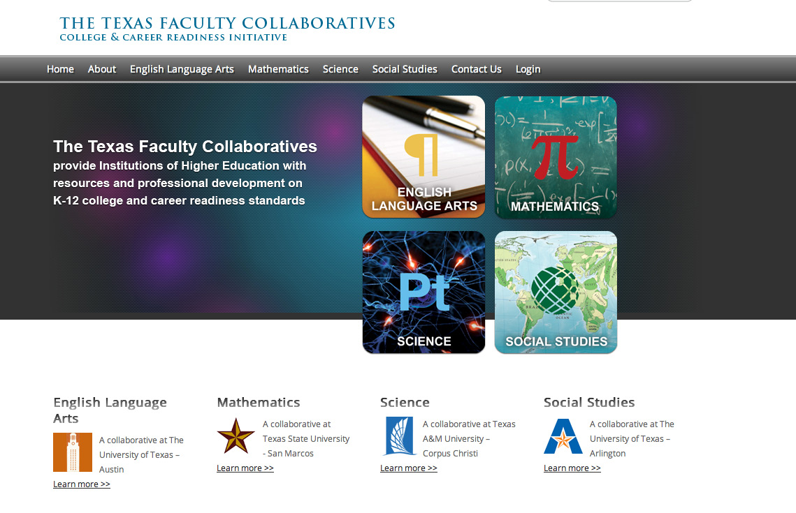 us College and Career Readiness Initiative Faculty