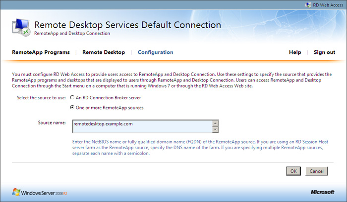 Deploying F5 with Microsoft Windows Server 2008 R2 Remote