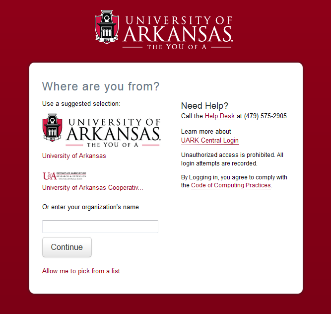 OU Campus Description OU Campus is a Content Management System (CMS) for the University of Arkansas. This tool allows you to create and manage content on your website.