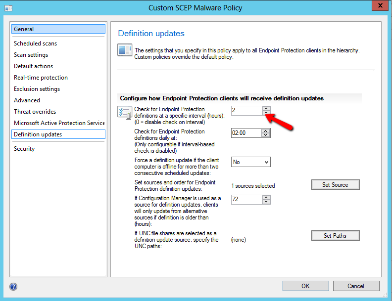 SCCM Endpoint Protection With SCCM 2012 comes Endpoint protection for protecting clients against virus and malware.