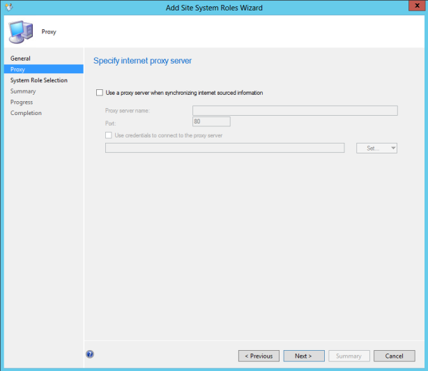 Adding System Center Endpoint Protection Role. We are now ready to add the Endpoint Protection Role, which will activate the feature within SCCM 2012.