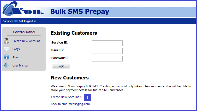 1 Overview BulkSMS is a bespoke SMS Campaign service enabling businesses and members of the public to send SMS messages to groups of mobile phones - large or small - from a web application after