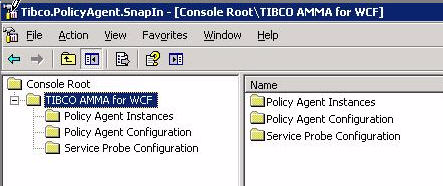 Installing and Configuring the Snap-in Server Resources 5 You can launch the Snap-in for Policy Agent next time by double-clicking the Tibco.PolicyAgent.SnapIn.