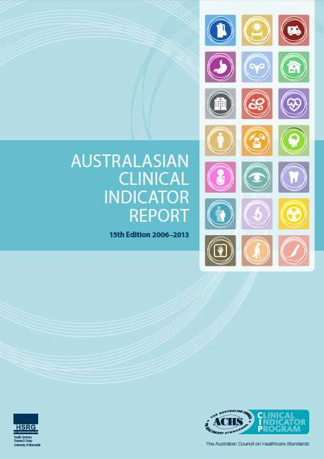 Australasian Clinical Indicator Report Summary data