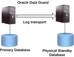 High Available System Architecture Ensure the data availability against storage failure or site failure Physical standby database kept in sync with the primary database with Oracle data guard Protect