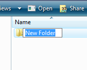 Folders We use folders so that we can easily organise and find our files. Creating folders and naming them appropriately will help us locate our documents quicker.