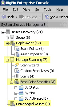 Chapter 2. Using Asset Discovery Operation Once installed, you can view all unmanaged asset information that has been retrieved by your various Scan Point computers.