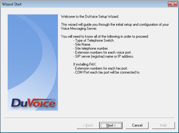 6. Configure DuVoice This section provides the procedures for configuring DuVoice. 6.1.