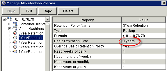Chapter 4: Data Protection Services The new Avamar schedule is created based on the backup service level created by the cloud administrator, as shown in Figure 31.