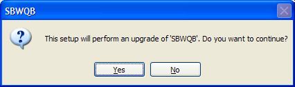SBW Installation You will be prompted to an installation page (see below): Download SBW 18.0 (SBW 18.0 Download or SBW 18.