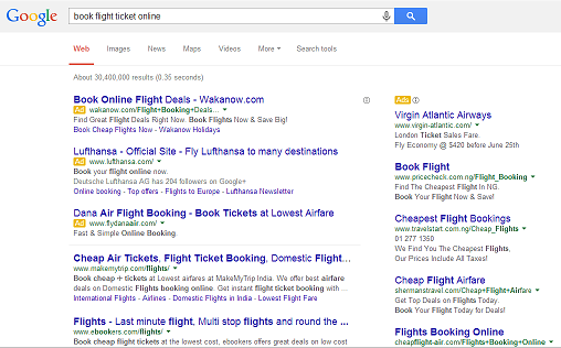 Google Search Ads Always be visible on search queries for your