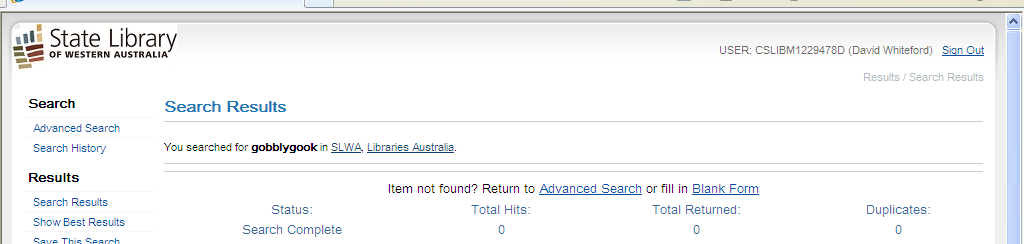 ERROR MESSAGE If you get the above message when trying to make a Get-It request, please email the title details to docs@slwa.wa.gov.au.