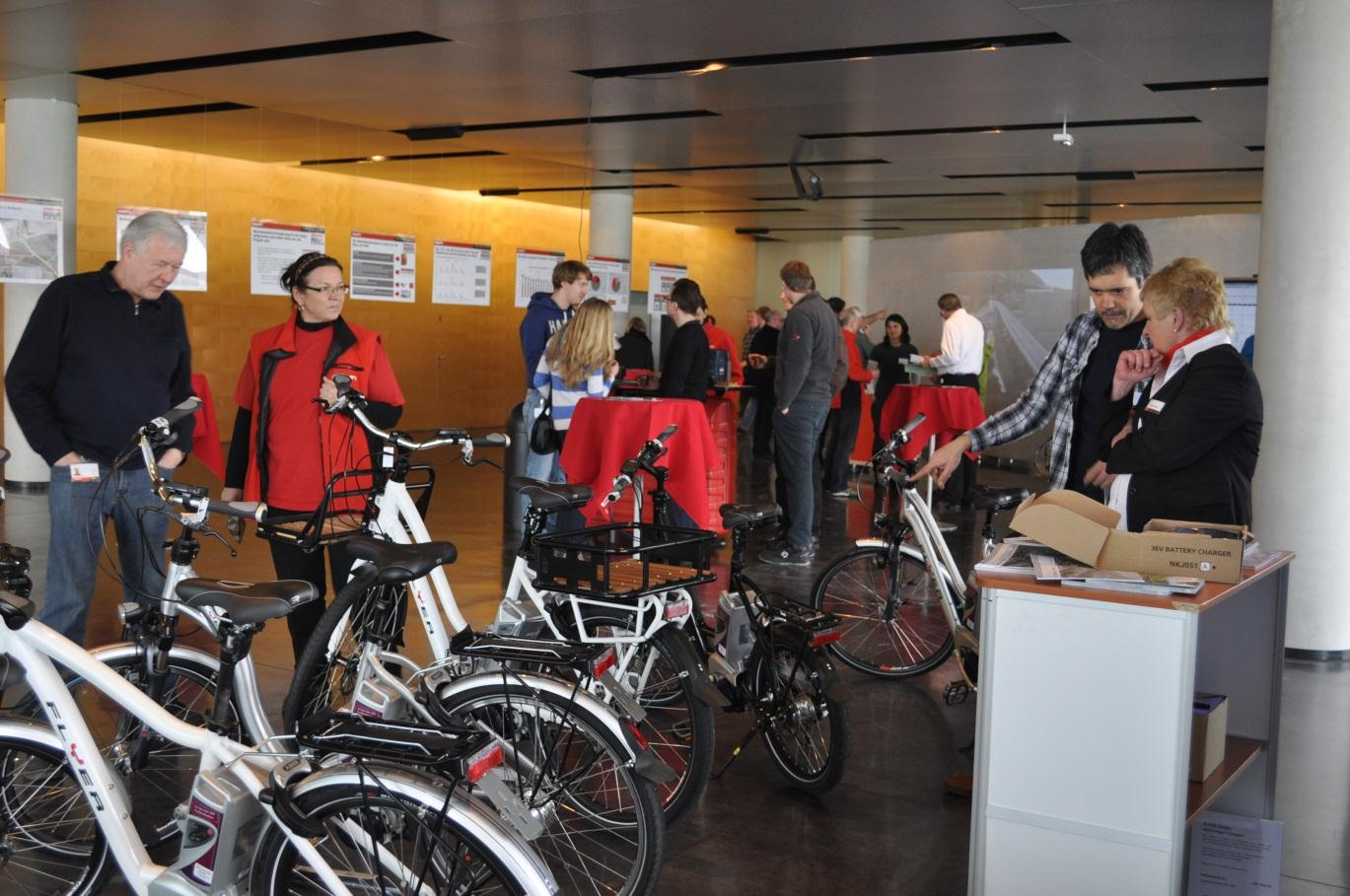 Mobility concept @ Hilti On-going activities & initiatives Bicycle Bicycle to work week & E-Bike test