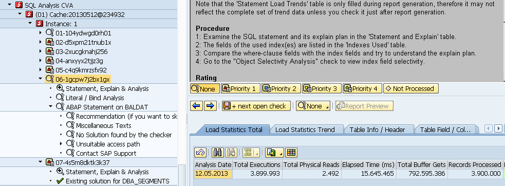 SAP Servicetool for Performance Analysis : TPO session Benefit: data integration Load Data Program Information