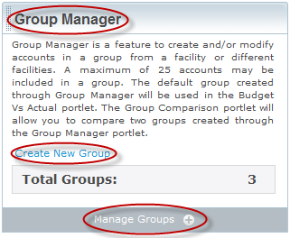 Groups: The Group Manager tool creating and managing your groups Customers can create as many groups as they need. Each group can contain up to 25 accounts.