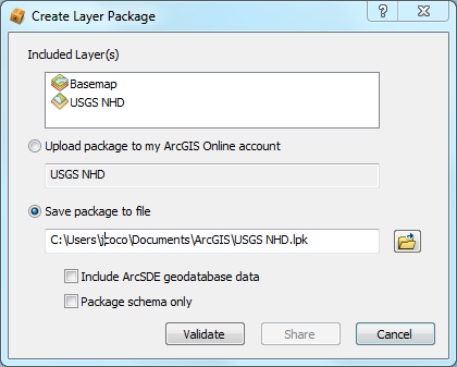 ArcGIS 10.2.x Users GIS Beyond the Basics: Web Maps & File Sharing Services 2.