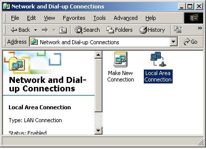 Configuring PC in Windows 2000 1. Go to Start / Settings / Control Panel.