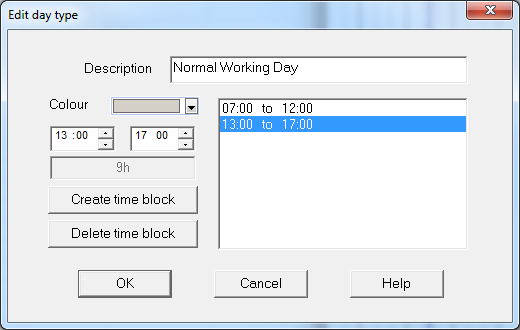 3. Select and highlight the 7 day work week and open the General tab 4. Any day can be changed to a working day. Right click on any Saturday date and select Normal Working Day then Every Saturday.