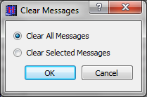 Figure 14 Messages Dialog Configure The Configure button provides access to the Configure Messages dialog shown in Figure 15.