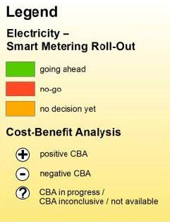 Smart meter roll-out in the EU