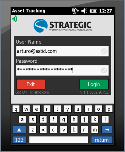 When the system is launched, the interface will direct users to the Login screen. 3.1 Login After the mobile application is launched, you will be taken to the Login screen.