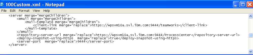 c. Change http://<ps_hostname>:<non_secured_port> to https://<ps_hostname>:<secured-port>. 10.