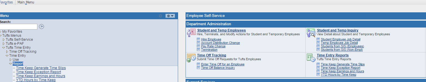 There are timesheets available on the on the Forms menu on the Human Resources homepage: http://hr.tufts.