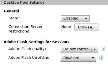 4. Under Desktop Pool Identification, specify the alphanumeric ID, display name, and optional description for the RDS desktop pool and then click Next.