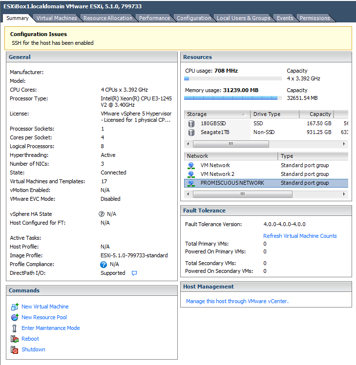 Step 1: Configure Properties After creation of the port group on the ESX management console, navigate to the Properties tab of the PVS VM within the VM Platform.