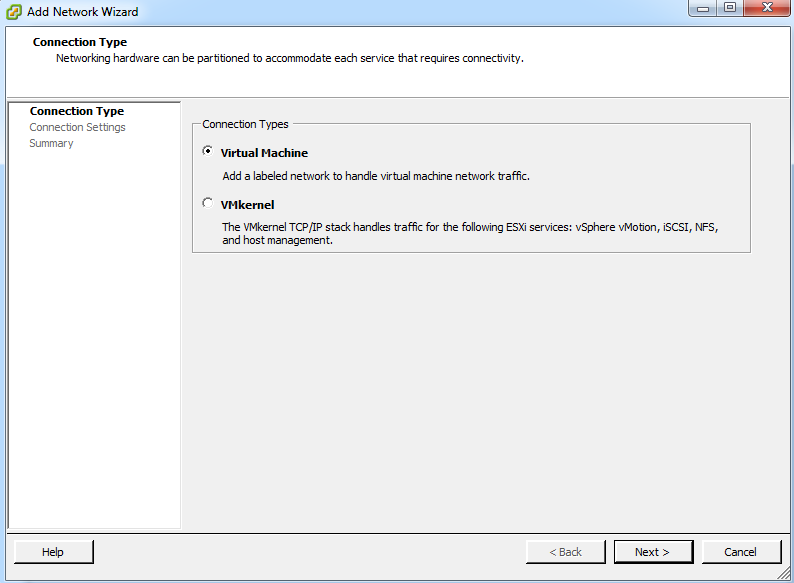 Step 3: Select the Virtual Machine From the