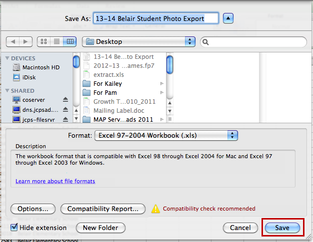 If the student numbers exported with the leading zeros, the Student ID Column should appear with green flags in the student number fields.