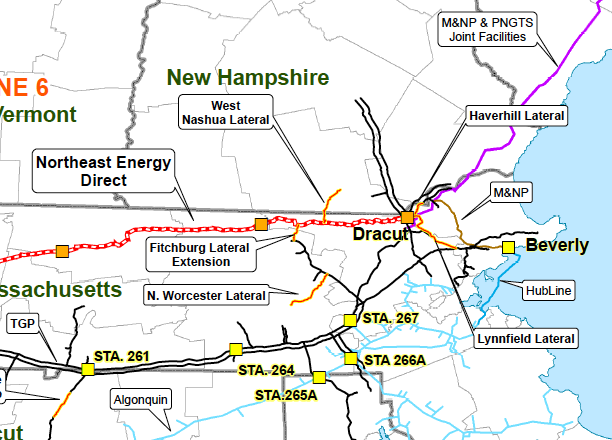 Northeast Energy Direct Project Market Path NED Project Market Reach TGP System (direct) NY, PA, MA, CT, RI, NH M&NP & PNGTS (indirect) NH, Maine, Atlantic Canada Potential LNG Export Algonquin via