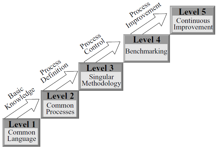 The stage representation of CMM model is represented as: Figure3.