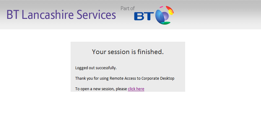 Your Remote Desktop session will now launch.