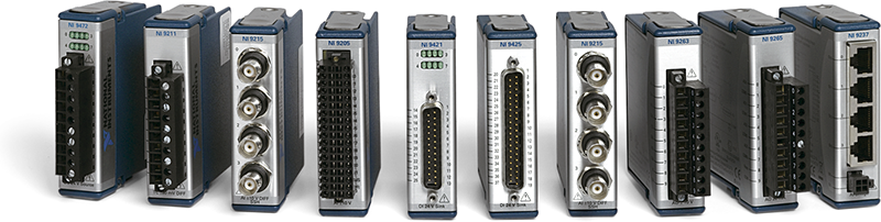 any NI CompactDAQ or CompactRIO chassis. Each channel is compatible with 24 V signals and features transient overvoltage protection of 2,300 Vrms between the input channels and earth ground.