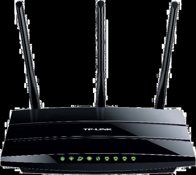 STANDARD ADSL ROUTER All-in-One Device: ADSL2+ Modem, NAT Router, 4- Port Switch and Wireless N Access Point Wireless N speed up to 300Mbps makes it ideal for heavy bandwidth consuming or