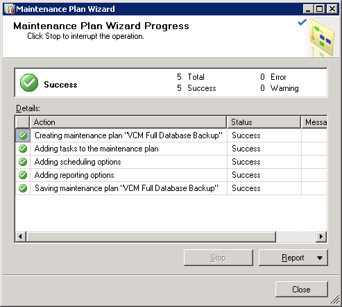 VCM Backup and Disaster Recovery Guide 18.