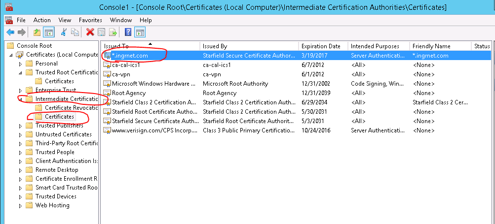 [3] Import certification to IIS 1. Open Administrative Tools > Internet Information Services (IIS) Manager 2.