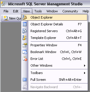 Microsoft SQL Server These are the guidelines for manually installing Aradial with MS SQL Server database.