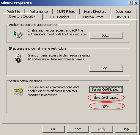 CONFIGURE AND TEST THE CERTIFICATE To configure and test the certificate, follow the steps below.