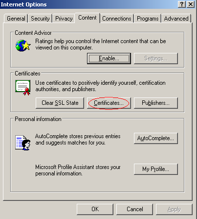 APPENDIX B: INSTALL A CERTIFICATE The Certificate Import Wizard is